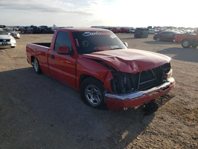 Salvage cars for sale from Copart Amarillo, TX: 2005 Chevrolet Silverado