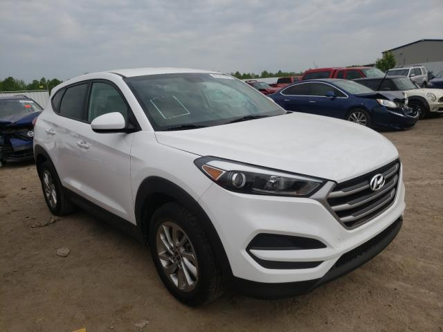 Salvage cars for sale from Copart Louisville, KY: 2017 Hyundai Tucson SE