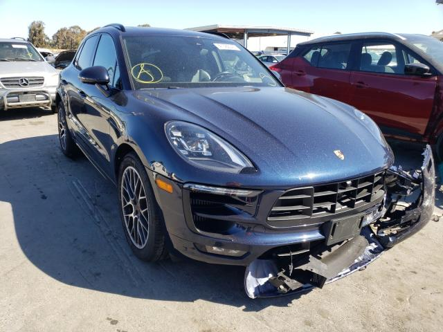 Salvage cars for sale from Copart Hayward, CA: 2017 Porsche Macan GTS
