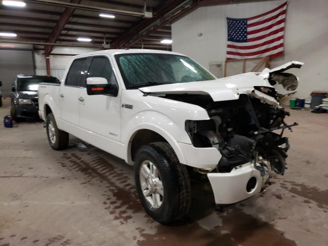 Salvage cars for sale from Copart Lansing, MI: 2013 Ford F150 Super