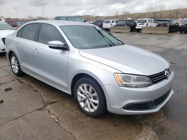 Salvage cars for sale at Littleton, CO auction: 2013 Volkswagen Jetta SE