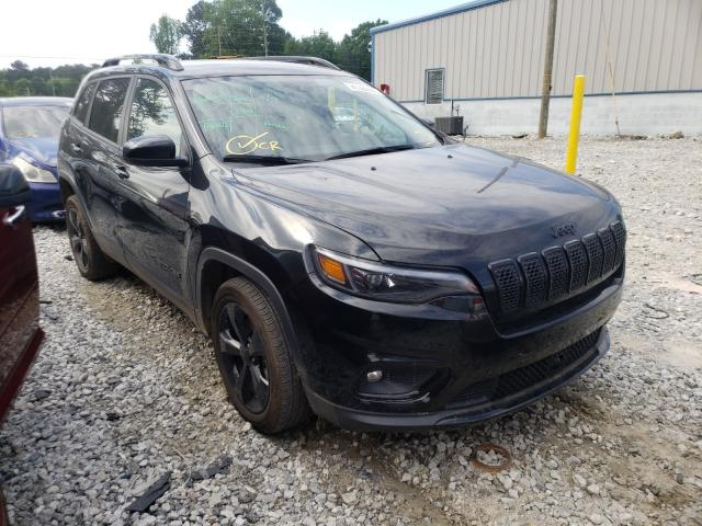 Salvage cars for sale from Copart Loganville, GA: 2021 Jeep Cherokee L