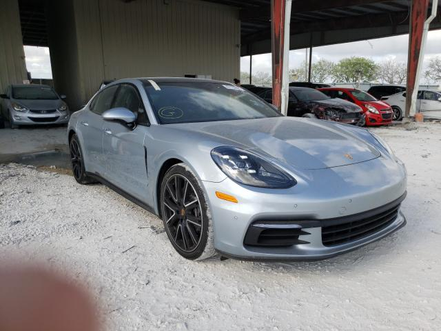 Salvage cars for sale from Copart Homestead, FL: 2018 Porsche Panamera 4