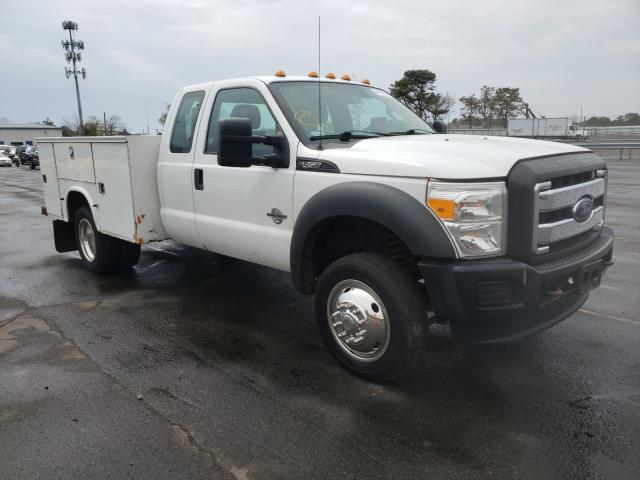 Salvage cars for sale from Copart Brookhaven, NY: 2014 Ford F450 Super