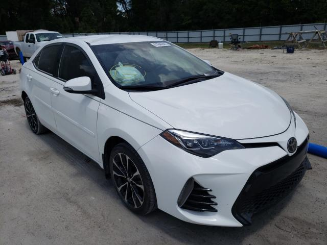 Salvage cars for sale from Copart Ocala, FL: 2018 Toyota Corolla L