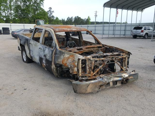 Salvage cars for sale at Harleyville, SC auction: 2014 Chevrolet Silverado