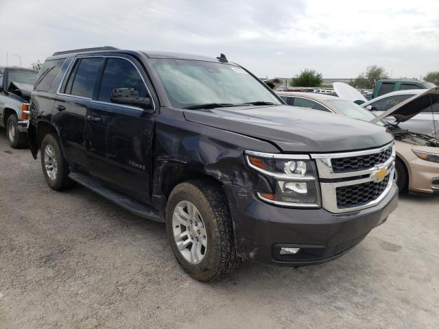 Salvage cars for sale from Copart Tulsa, OK: 2015 Chevrolet Tahoe K150