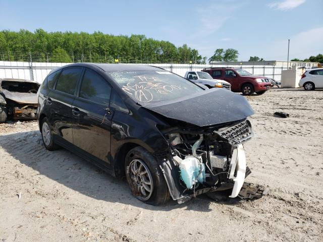 Salvage cars for sale from Copart Hampton, VA: 2013 Toyota Prius V