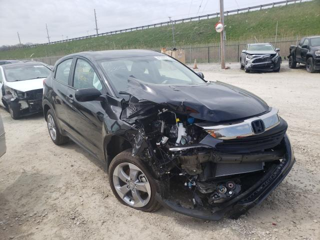 Salvage cars for sale from Copart Northfield, OH: 2021 Honda HR-V LX