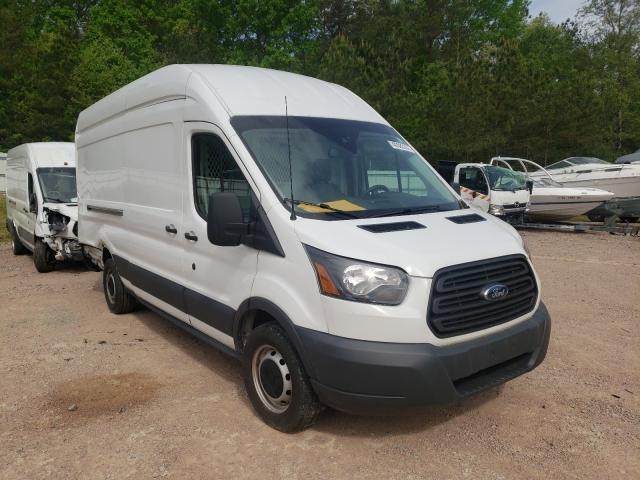 Salvage trucks for sale at Charles City, VA auction: 2018 Ford Transit T