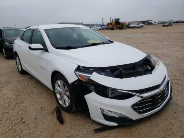 Salvage cars for sale from Copart San Antonio, TX: 2020 Chevrolet Malibu LT