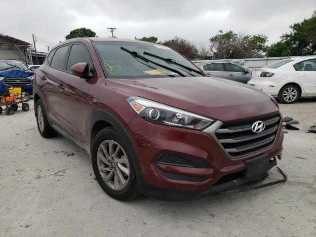 Salvage cars for sale from Copart Corpus Christi, TX: 2016 Hyundai Tucson SE