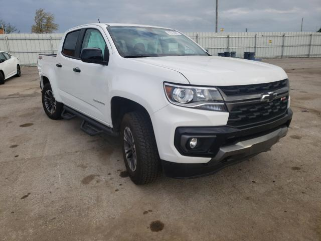 Salvage cars for sale from Copart Lexington, KY: 2021 Chevrolet Colorado Z