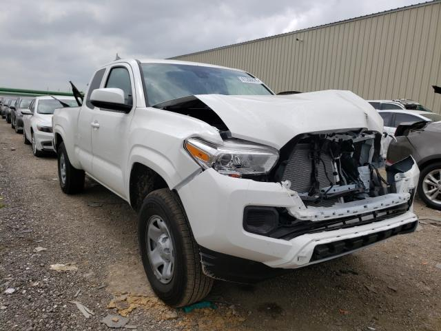 Salvage cars for sale from Copart Houston, TX: 2021 Toyota Tacoma ACC