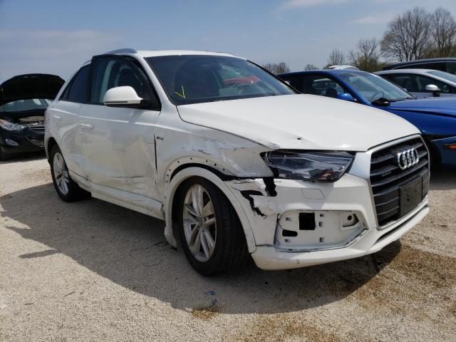 Audi salvage cars for sale: 2018 Audi Q3 Premium