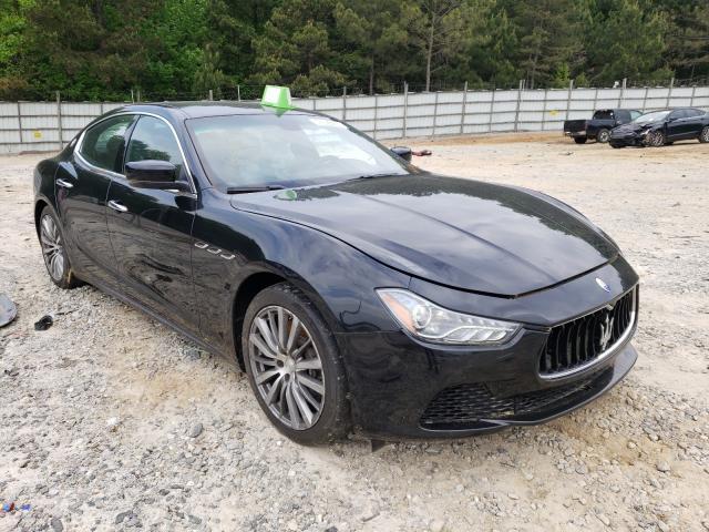 Maserati salvage cars for sale: 2015 Maserati Ghibli