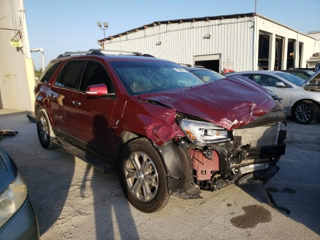 Salvage cars for sale from Copart Riverview, FL: 2015 GMC Acadia SLT