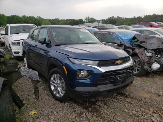 Salvage cars for sale from Copart Lufkin, TX: 2021 Chevrolet Trailblazer