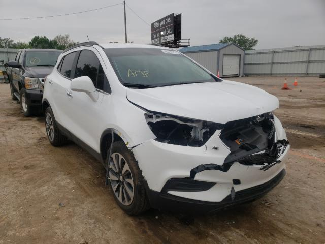 Salvage cars for sale from Copart Wichita, KS: 2021 Buick Encore PRE