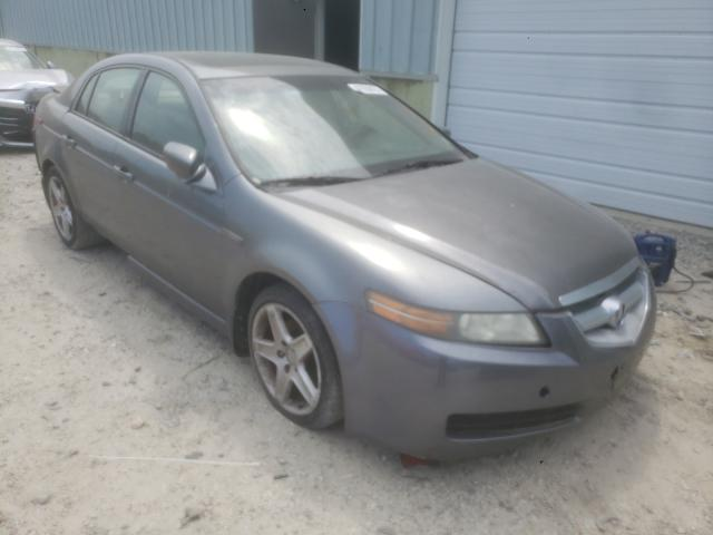 Salvage cars for sale from Copart Hampton, VA: 2005 Acura TL