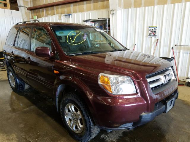 Salvage cars for sale from Copart Anchorage, AK: 2008 Honda Pilot VP