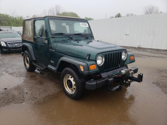 Salvage cars for sale from Copart Columbia Station, OH: 2000 Jeep Wrangler