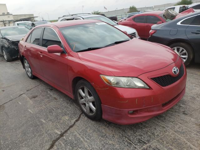 Salvage cars for sale from Copart Tulsa, OK: 2007 Toyota Camry CE