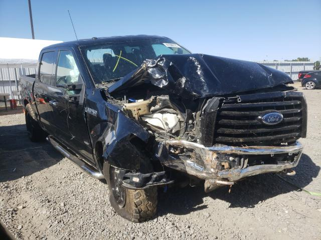 Salvage cars for sale from Copart Sacramento, CA: 2016 Ford F150 Super