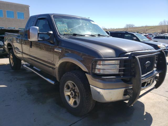Salvage 2007 FORD F250 - Small image. Lot 41764221