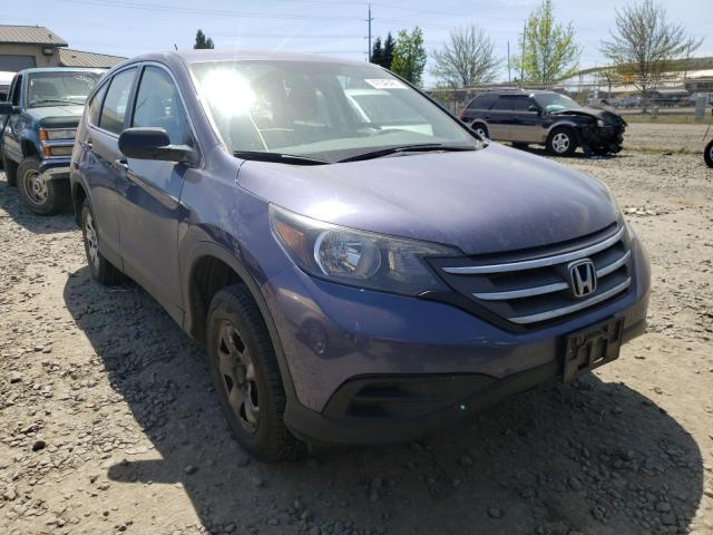 Salvage cars for sale from Copart Eugene, OR: 2012 Honda CR-V LX