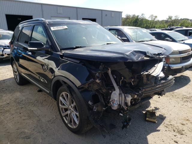 Salvage cars for sale from Copart Jacksonville, FL: 2017 Ford Explorer L