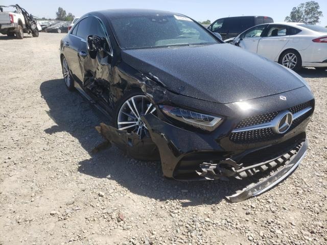 Salvage cars for sale from Copart Sacramento, CA: 2019 Mercedes-Benz CLS 450