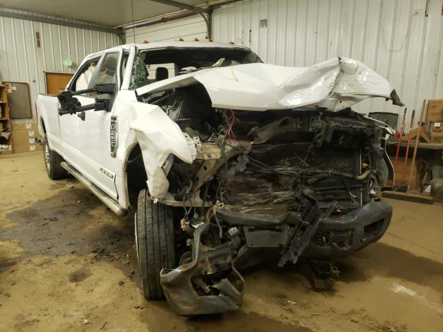 Salvage trucks for sale at Pekin, IL auction: 2017 Ford F250 Super