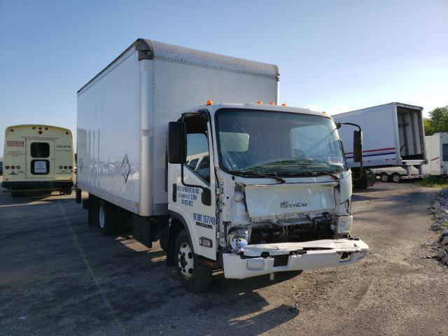 Salvage trucks for sale at Jacksonville, FL auction: 2016 Isuzu NPR HD