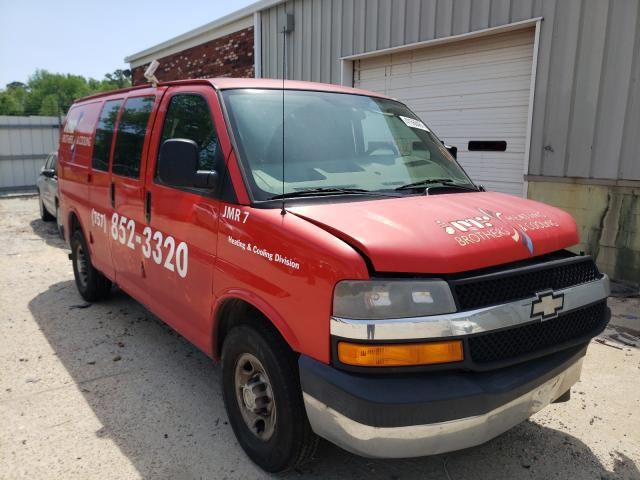 Salvage cars for sale from Copart Hampton, VA: 2008 Chevrolet Express G2