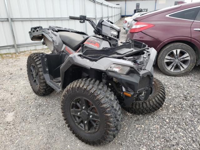 Salvage motorcycles for sale at Houston, TX auction: 2018 Polaris Sportsman