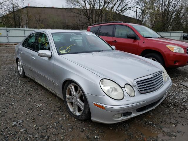 Mercedes-Benz E-Class salvage cars for sale: 2004 Mercedes-Benz E-Class