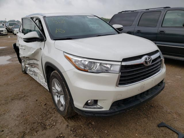 Salvage cars for sale from Copart Temple, TX: 2015 Toyota Highlander