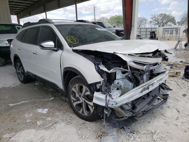 Salvage cars for sale from Copart Homestead, FL: 2021 Subaru Outback TO
