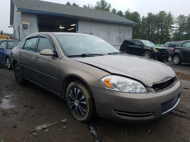 Salvage cars for sale from Copart Lyman, ME: 2006 Chevrolet Impala LS