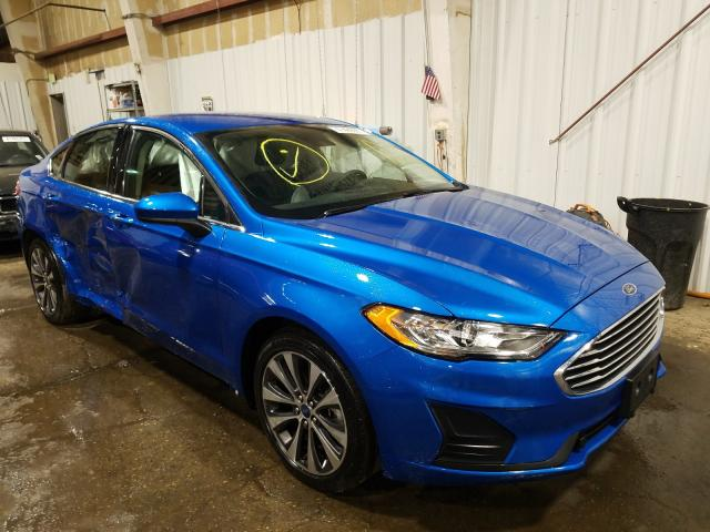 Salvage cars for sale from Copart Anchorage, AK: 2019 Ford Fusion SE