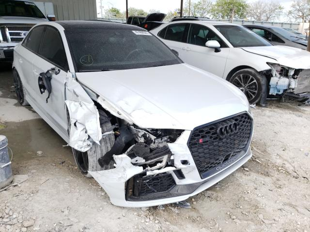 Salvage cars for sale from Copart Homestead, FL: 2019 Audi RS3