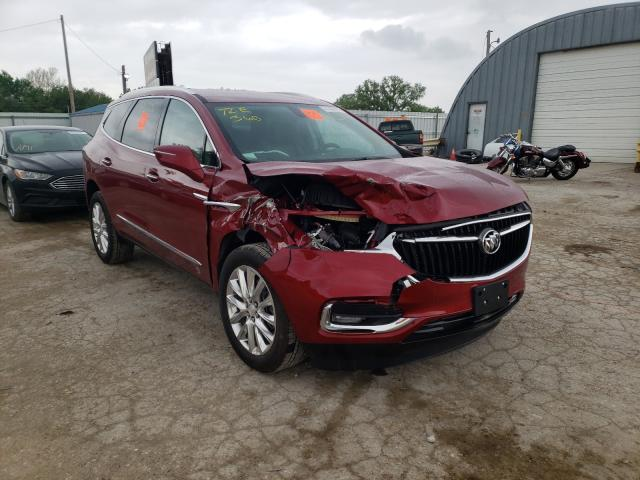 Salvage cars for sale from Copart Wichita, KS: 2021 Buick Enclave ES