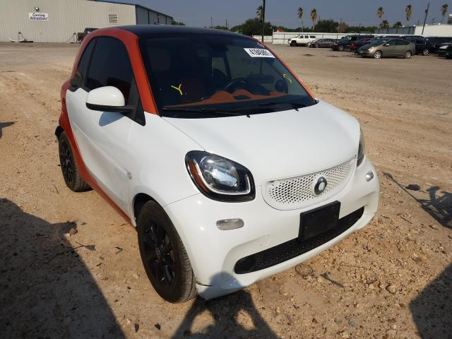 Salvage cars for sale from Copart Mercedes, TX: 2016 Smart Fortwo