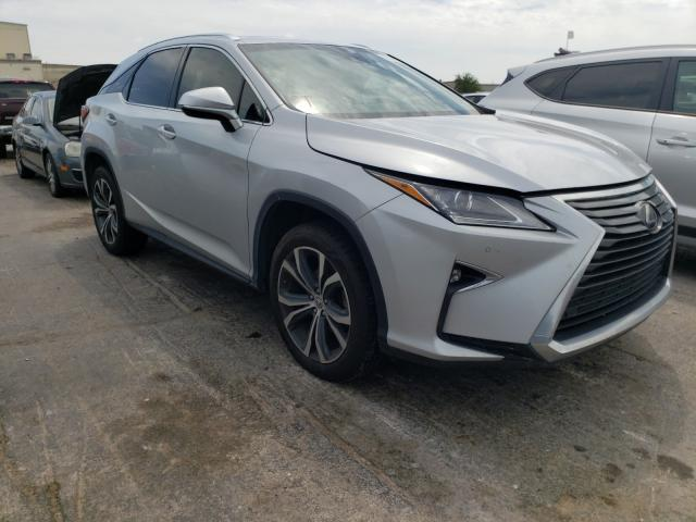 Salvage cars for sale from Copart Tulsa, OK: 2017 Lexus RX 350 Base