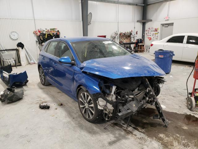 Salvage cars for sale from Copart Greenwood, NE: 2018 Hyundai Elantra GT