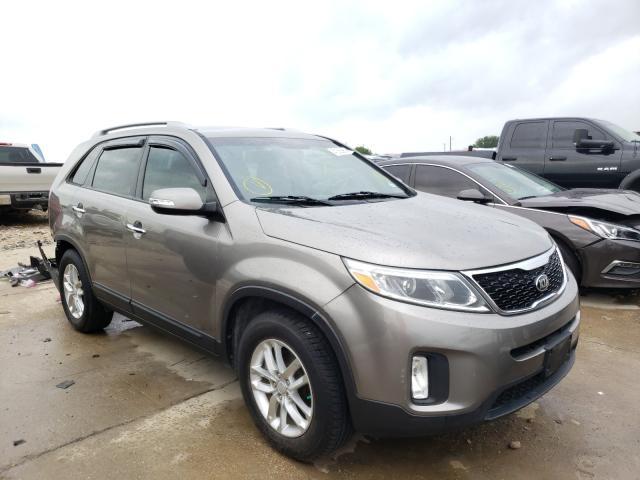 KIA Vehiculos salvage en venta: 2015 KIA Sorento LX