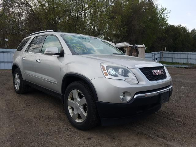 Salvage cars for sale from Copart London, ON: 2008 GMC Acadia SLT