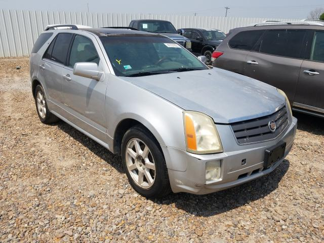 Salvage cars for sale from Copart Mercedes, TX: 2005 Cadillac SRX