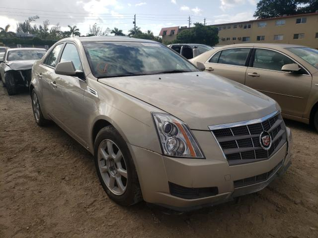 Salvage cars for sale from Copart Opa Locka, FL: 2009 Cadillac CTS